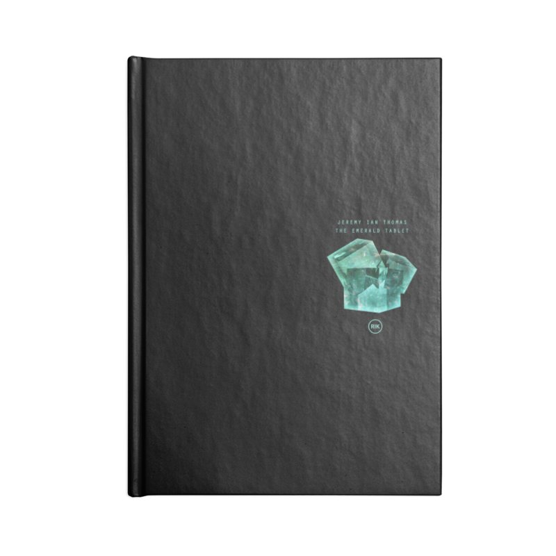 The Emerald Tablet (Rubix) Accessories Notebook by RIK.Supply