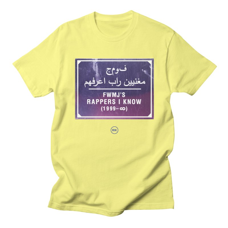 Signs (Marrakech) Women's Regular Unisex T-Shirt by RIK.Supply
