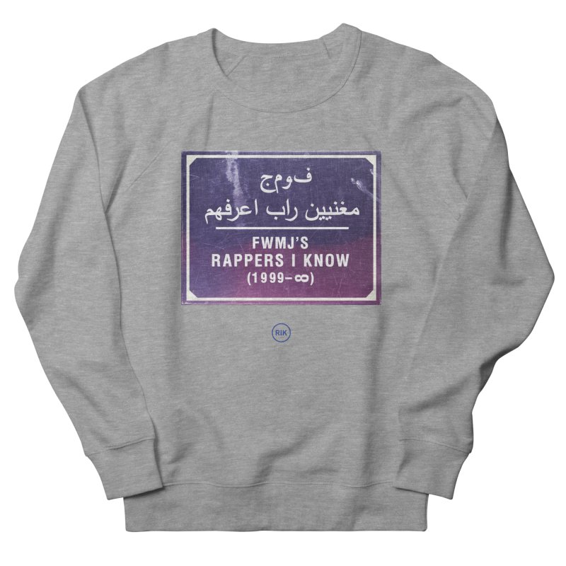 Signs (Marrakech) Men's Sweatshirt by RIK.Supply