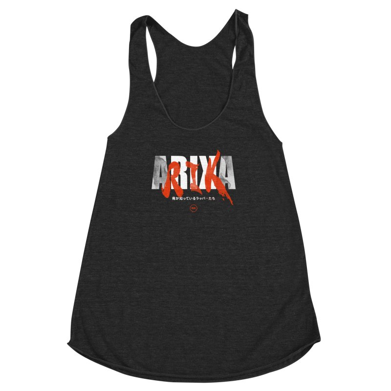 RIK (Kaneda) Women's Racerback Triblend Tank by RIK.Supply