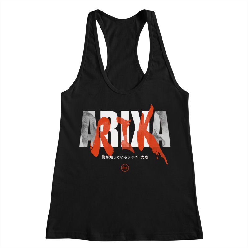 RIK (Kaneda) Women's Racerback Tank by RIK.Supply