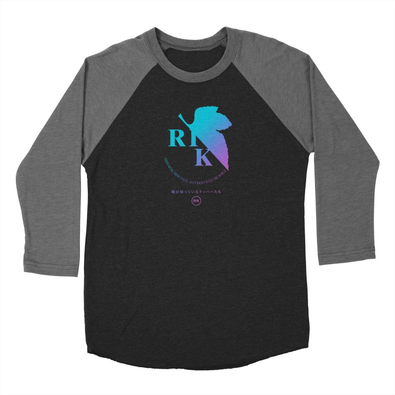 RIK (Texas 4 EVA) Men's Baseball Triblend Longsleeve T-Shirt by RIK.Supply