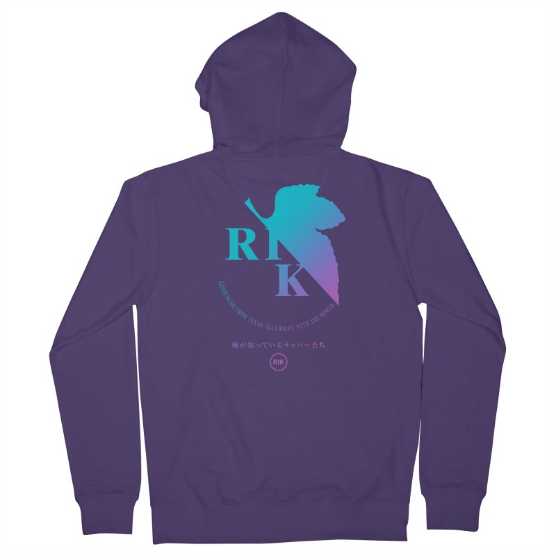 RIK (Texas 4 EVA) Women's French Terry Zip-Up Hoody by RIK.Supply