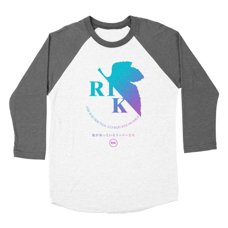 RIK (Texas 4 EVA) Women's Baseball Triblend T-Shirt by RIK.Supply
