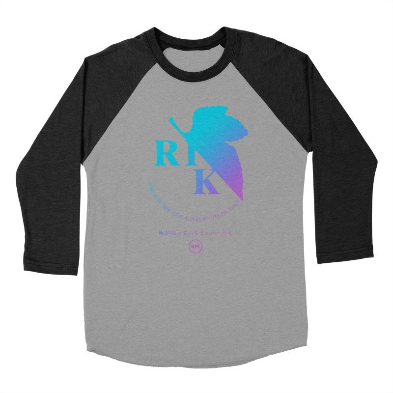 RIK (Texas 4 EVA) Men's Baseball Triblend T-Shirt by RIK.Supply