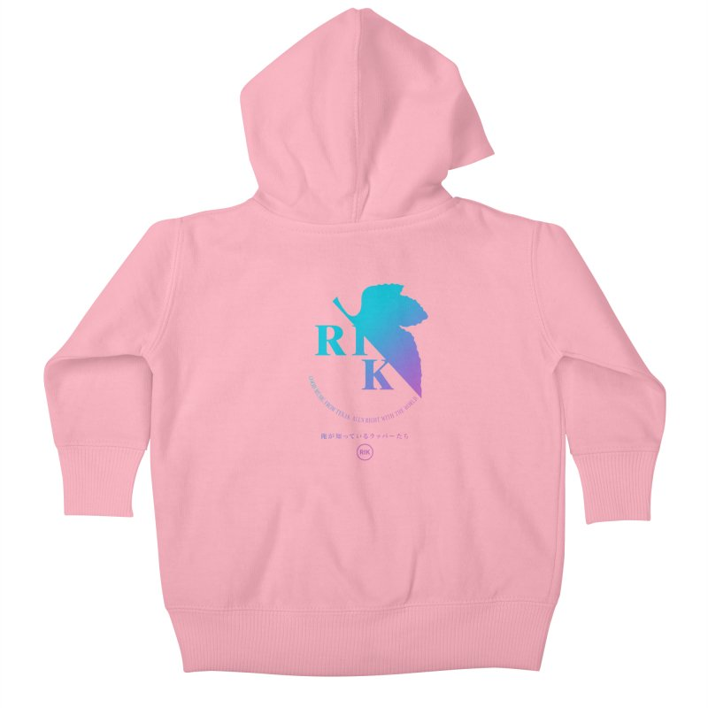 RIK (Texas 4 EVA) Kids Baby Zip-Up Hoody by RIK.Supply