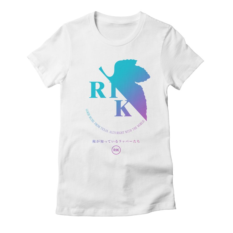 RIK (Texas 4 EVA) in Women's Fitted T-Shirt White by RIK.Supply