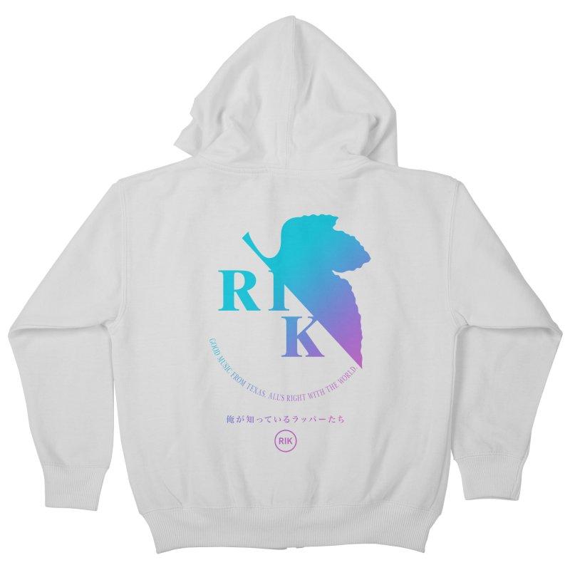 RIK (Texas 4 EVA) Kids Zip-Up Hoody by RIK.Supply