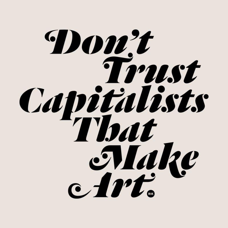 Capitalist Pigs Women's V-Neck by RIK.Supply