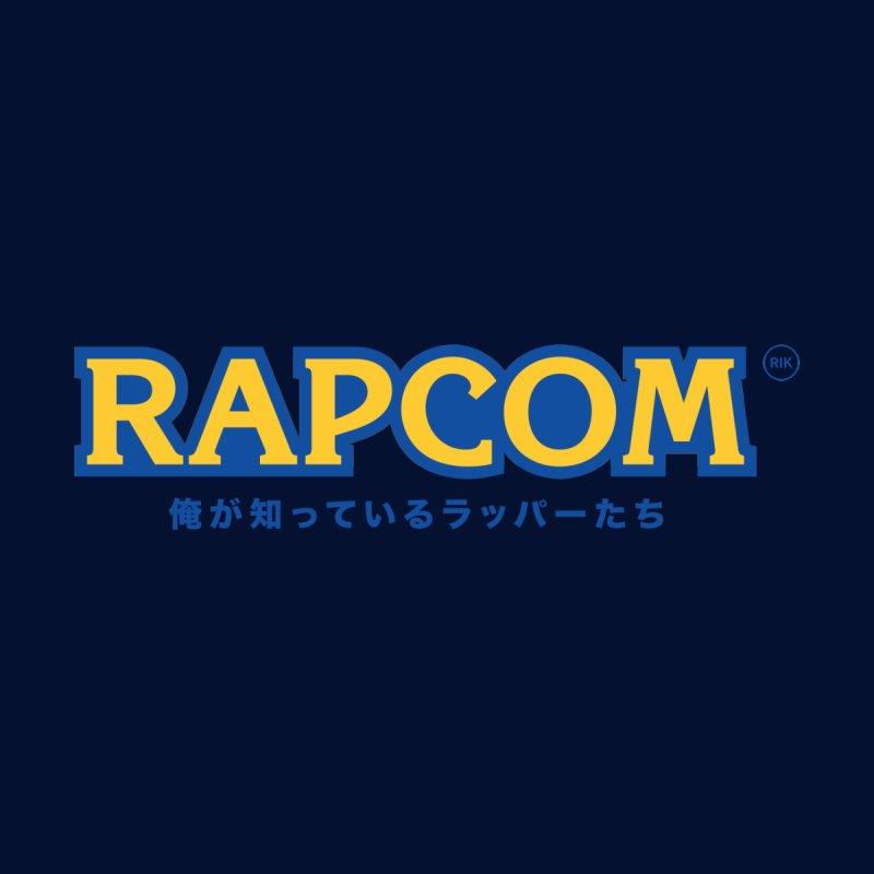 Rap Game (RAPCOM) Men's Longsleeve T-Shirt by RIK.Supply