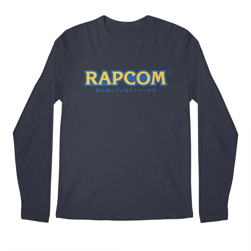 Rap Game (RAPCOM) Men's Regular Longsleeve T-Shirt by RIK.Supply