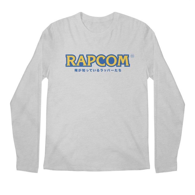 Rap Game (RAPCOM) Men's Regular Longsleeve T-Shirt by RIK.Supply