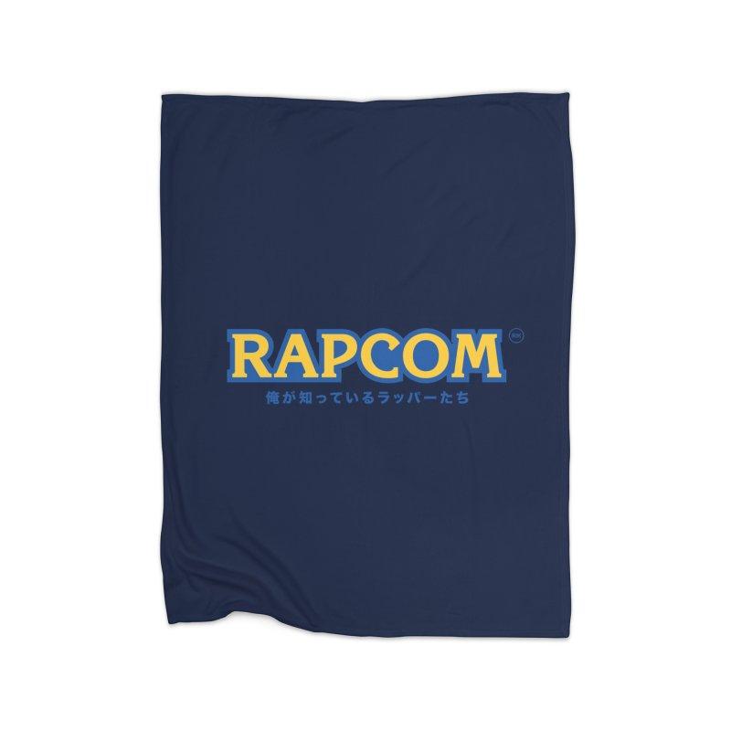 Rap Game (RAPCOM) Home Fleece Blanket by RIK.Supply