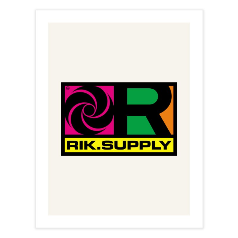RIK.Supply (Atlantic) Home Throw Pillow by RIK.Supply