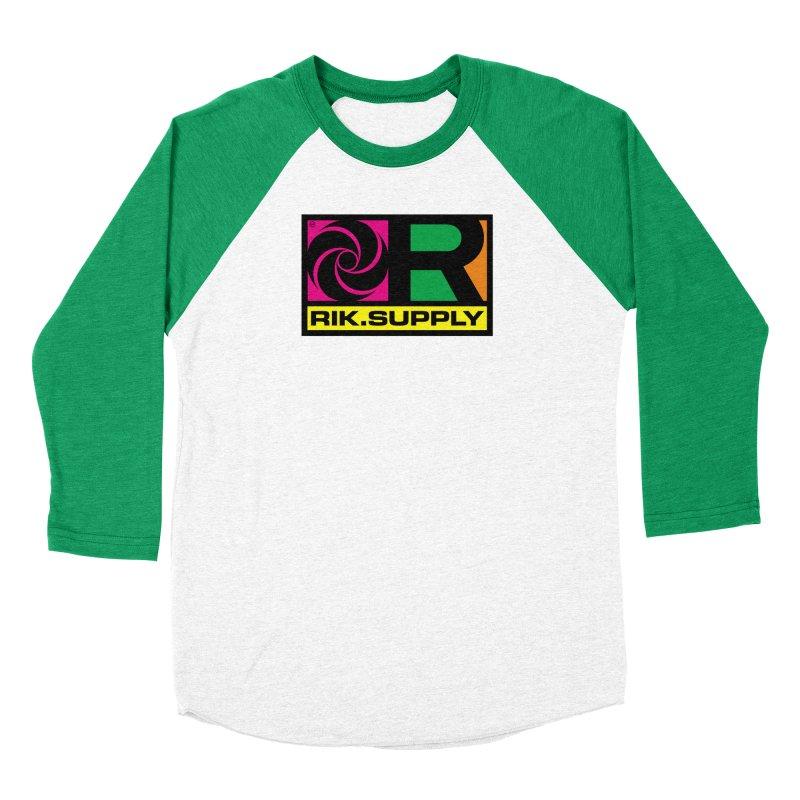 RIK.Supply (Atlantic) Women's Baseball Triblend Longsleeve T-Shirt by RIK.Supply