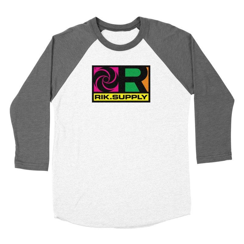 RIK.Supply (Atlantic) Men's Baseball Triblend Longsleeve T-Shirt by RIK.Supply