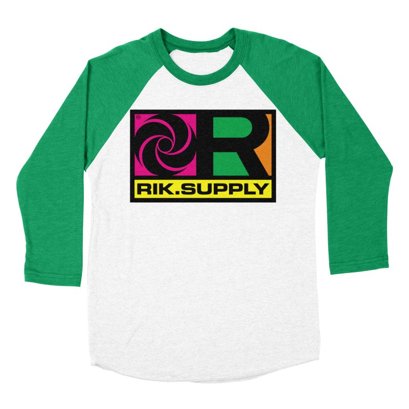 RIK.Supply (Atlantic) Men's Baseball Triblend T-Shirt by RIK.Supply