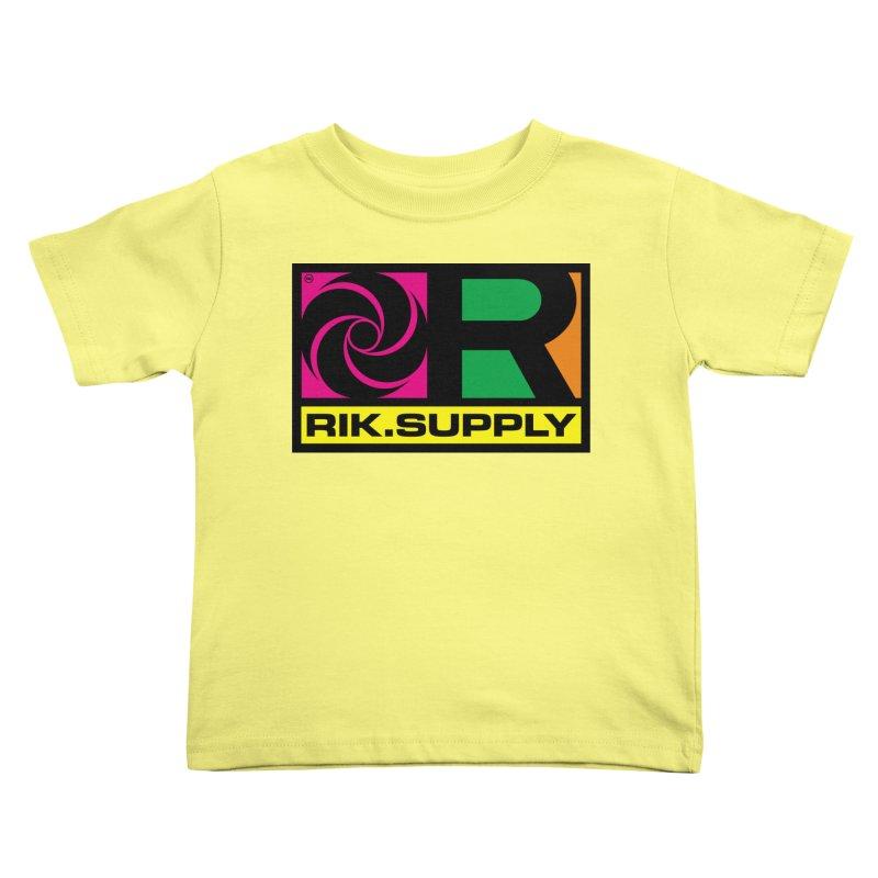 RIK.Supply (Atlantic) Kids Toddler T-Shirt by RIK.Supply