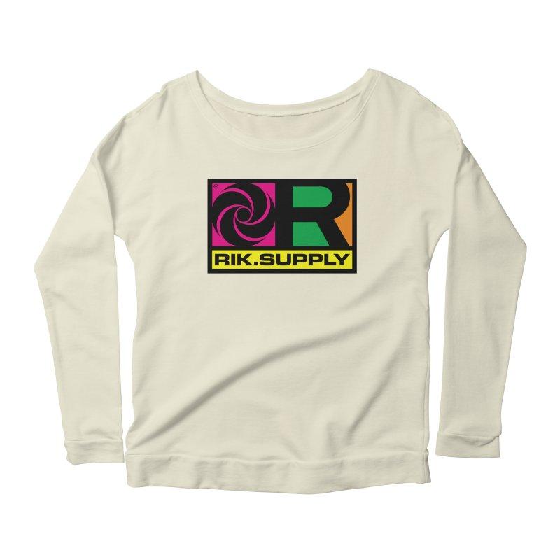 RIK.Supply (Atlantic) Women's Scoop Neck Longsleeve T-Shirt by RIK.Supply