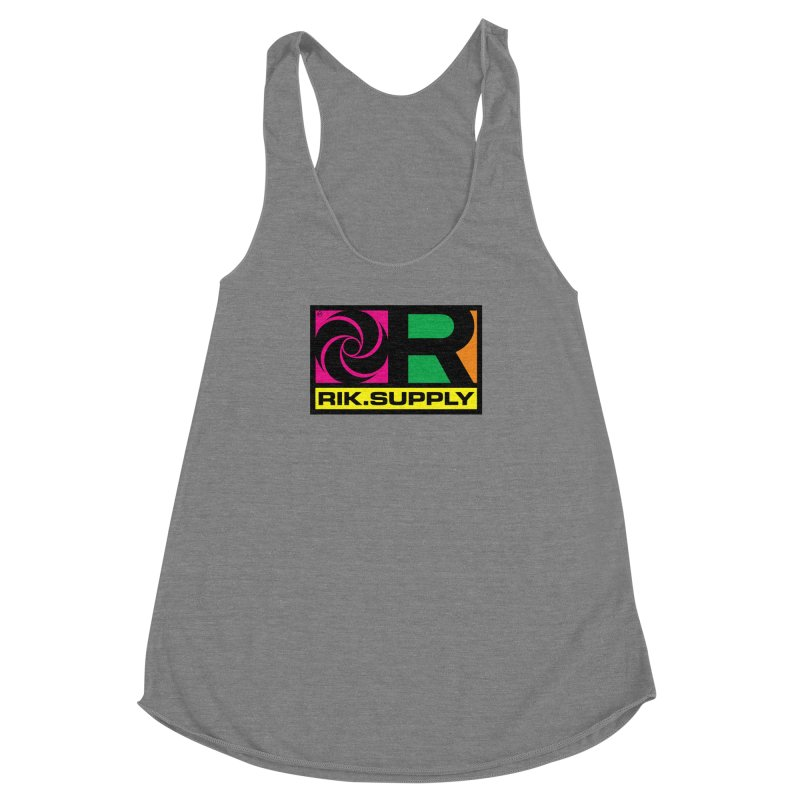 RIK.Supply (Atlantic) Women's Racerback Triblend Tank by RIK.Supply