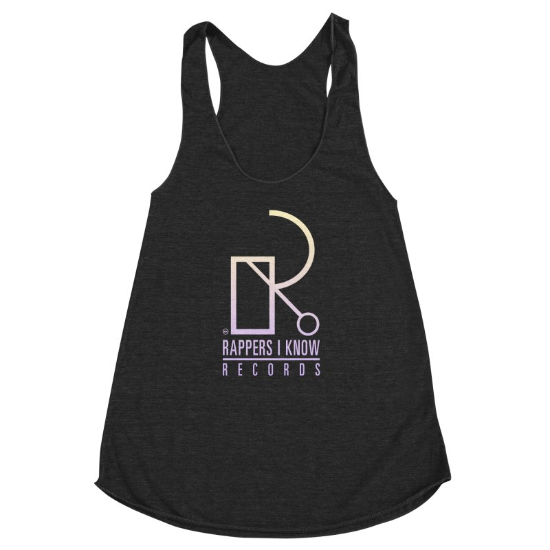 RIK.Supply (Tick Tock) Women's Racerback Triblend Tank by RIK.Supply