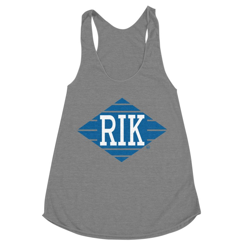 RIK.Supply (Jive Turkey) Women's Racerback Triblend Tank by RIK.Supply