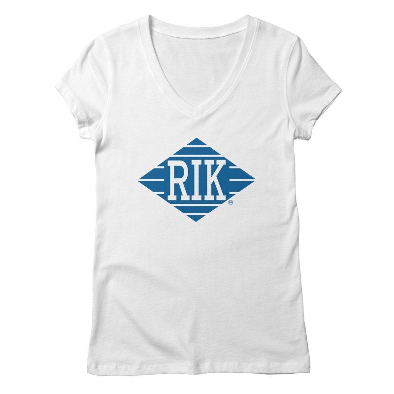 RIK.Supply (Jive Turkey) Women's Regular V-Neck by RIK.Supply