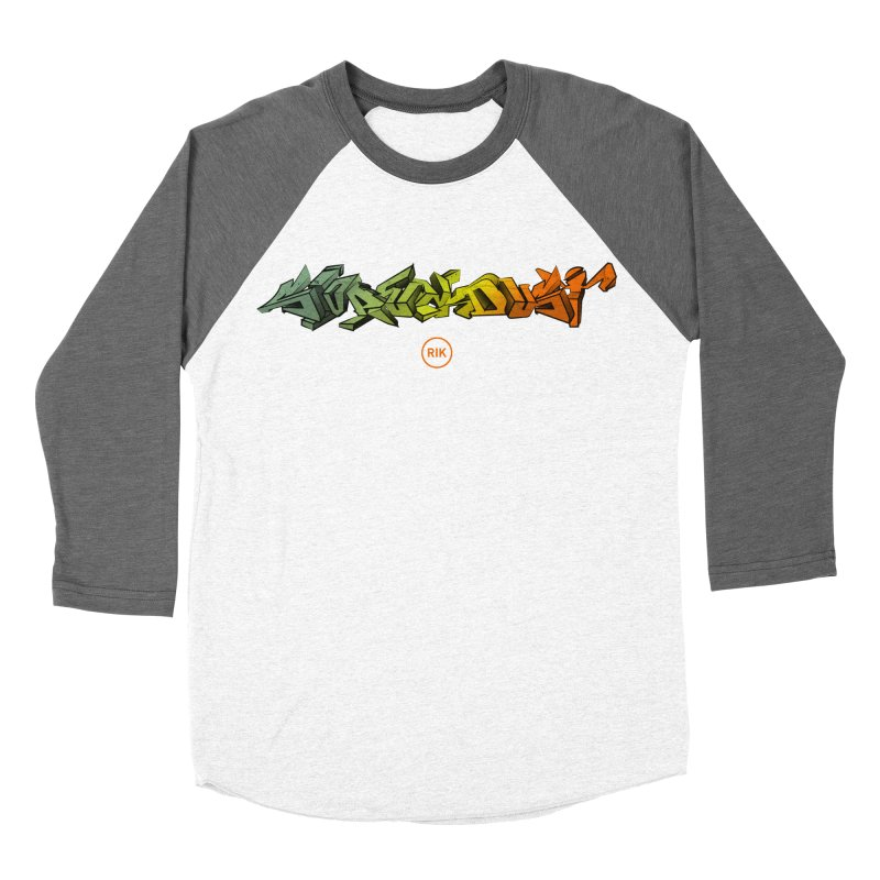 SlopFunkDust Women's Baseball Triblend T-Shirt by RIK.Supply