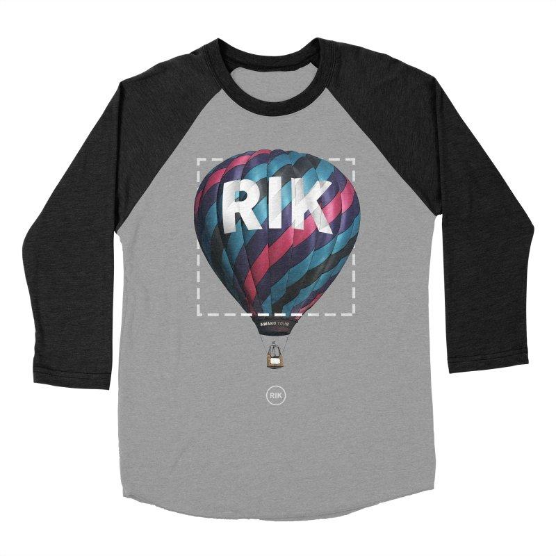 RIK Block (Award Tour) Men's Baseball Triblend T-Shirt by RIK.Supply