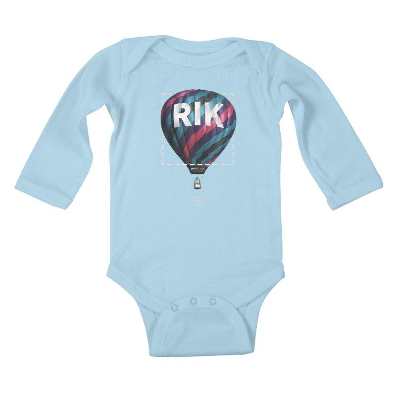 RIK Block (Award Tour) Kids Baby Longsleeve Bodysuit by RIK.Supply