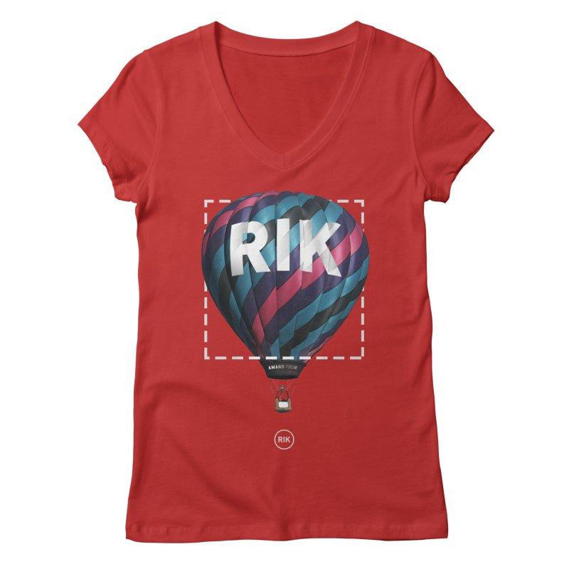 RIK Block (Award Tour) Women's V-Neck by RIK.Supply