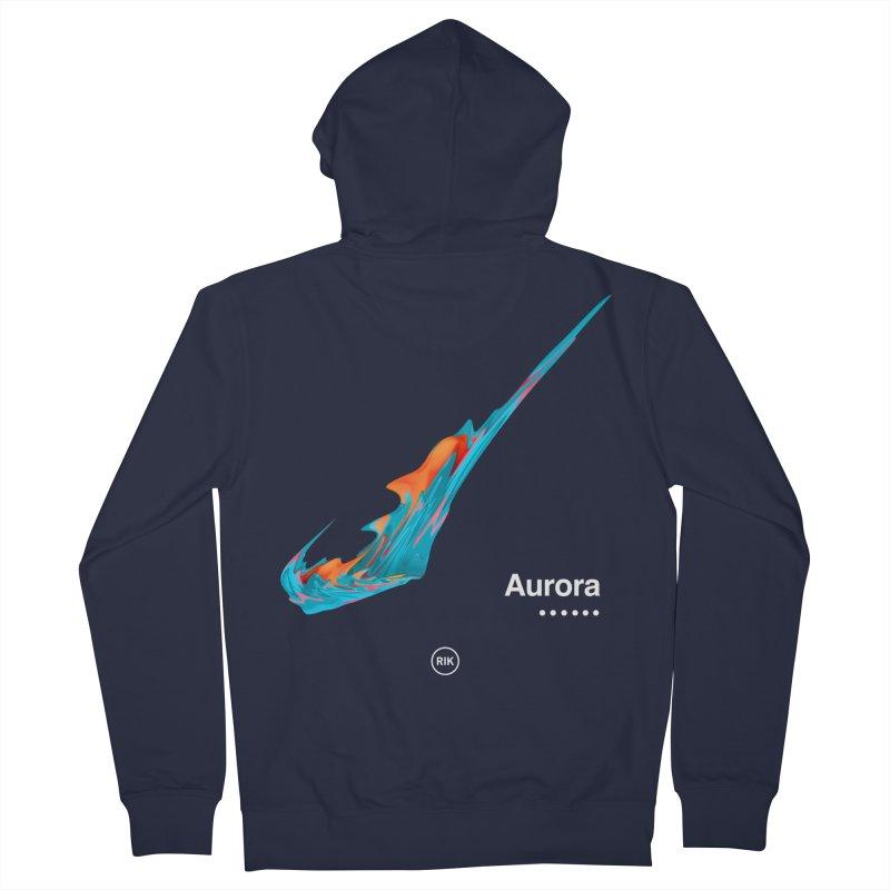 Aurora Men's Zip-Up Hoody by RIK.Supply
