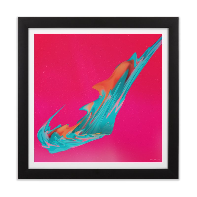 Aurora in Framed Fine Art Print Black by RIK.Supply