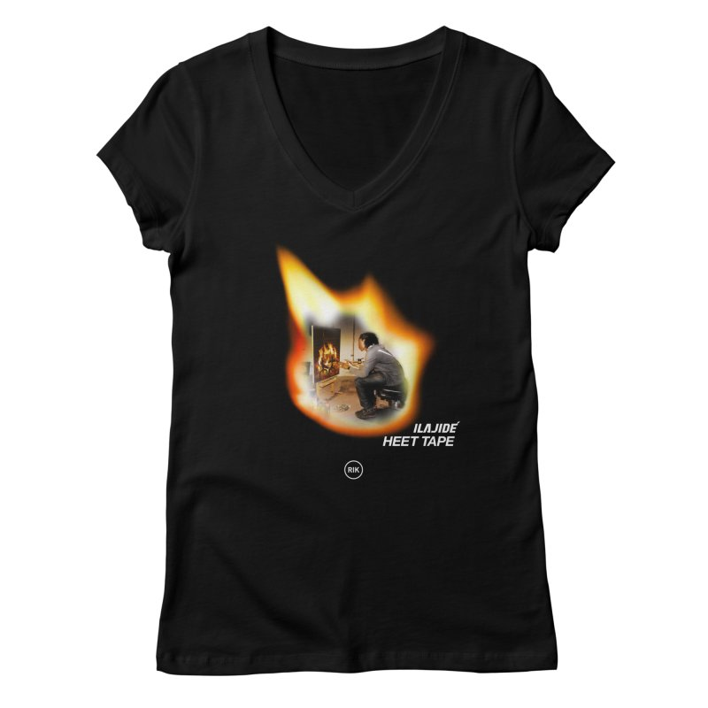 HEET TAPE Women's Regular V-Neck by RIK.Supply