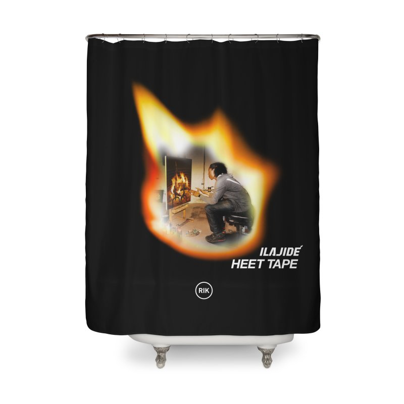 HEET TAPE Home Shower Curtain by RIK.Supply