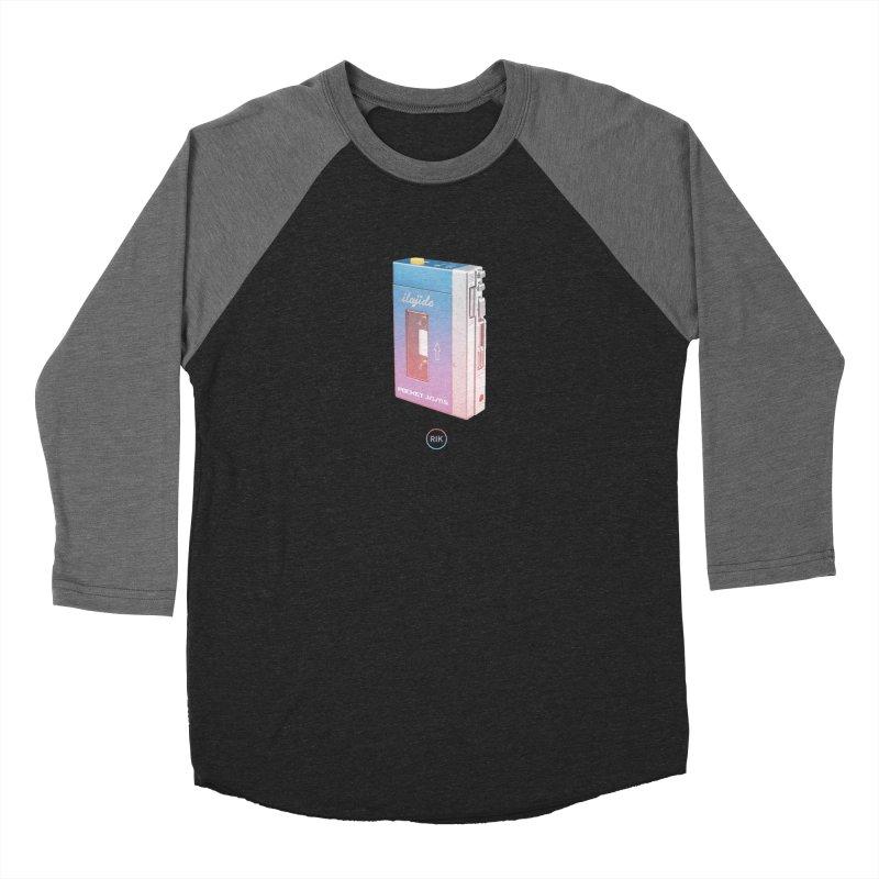 Pocket Jams Men's Baseball Triblend Longsleeve T-Shirt by RIK.Supply
