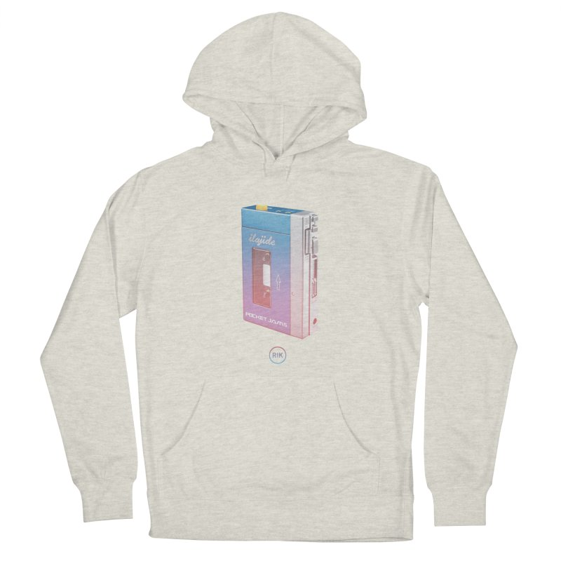 Pocket Jams Women's French Terry Pullover Hoody by RIK.Supply