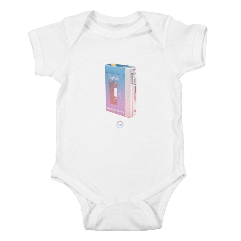 Pocket Jams Kids Baby Bodysuit by RIK.Supply