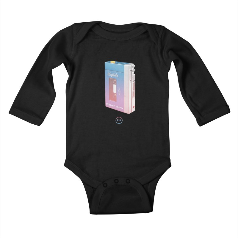 Pocket Jams Kids Baby Longsleeve Bodysuit by RIK.Supply