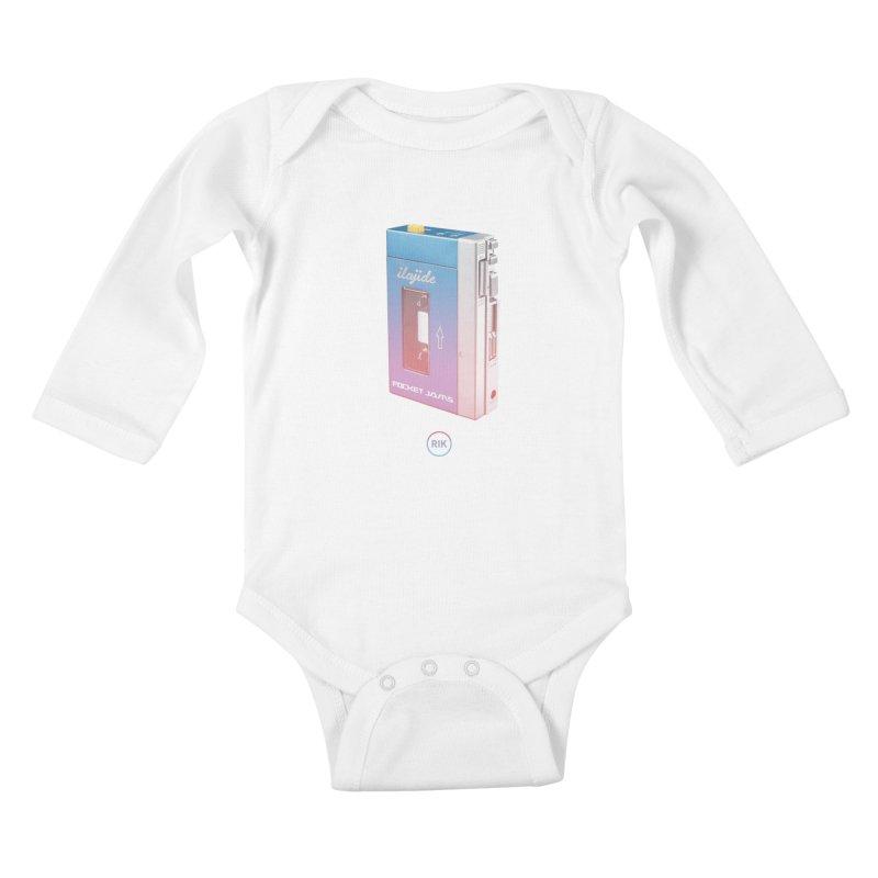 Pocket Jams Kids Baby Longsleeve Bodysuit by RIK.Supply