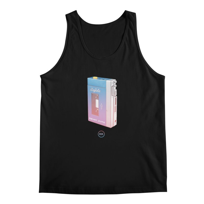 Pocket Jams Men's Regular Tank by RIK.Supply