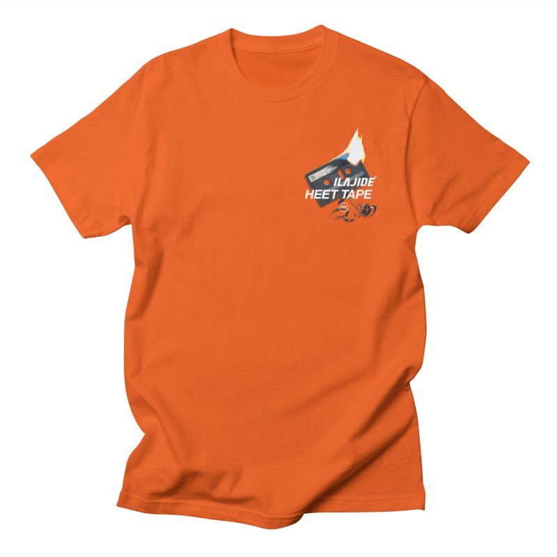 HEET TAPE (Cassette) in Men's T-Shirt Orange Poppy by RIK.Supply