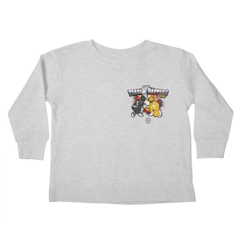 Power Bruhs Kids Toddler Longsleeve T-Shirt by RIK.Supply
