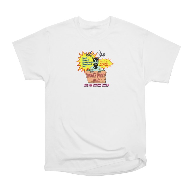 Donner's Party Palace Women's T-Shirt by Raptor Co. Tees