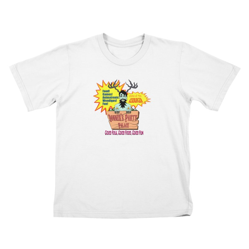 Donner's Party Palace Kids T-Shirt by Raptor Co. Tees