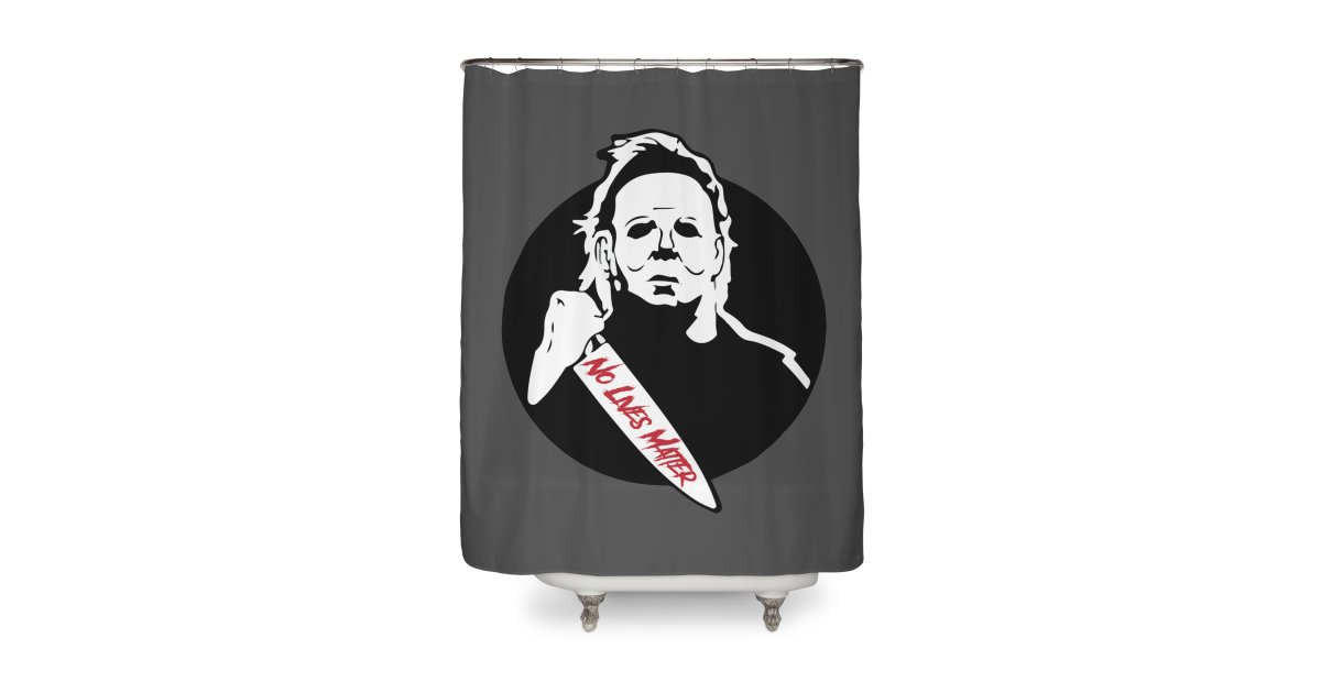 Rarevalo92 Michael Myers Home Shower Curtain