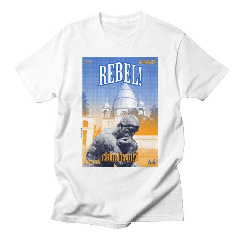 N° 52 Khartoum Men's T-Shirt by RasterPopArt's Artist Shop
