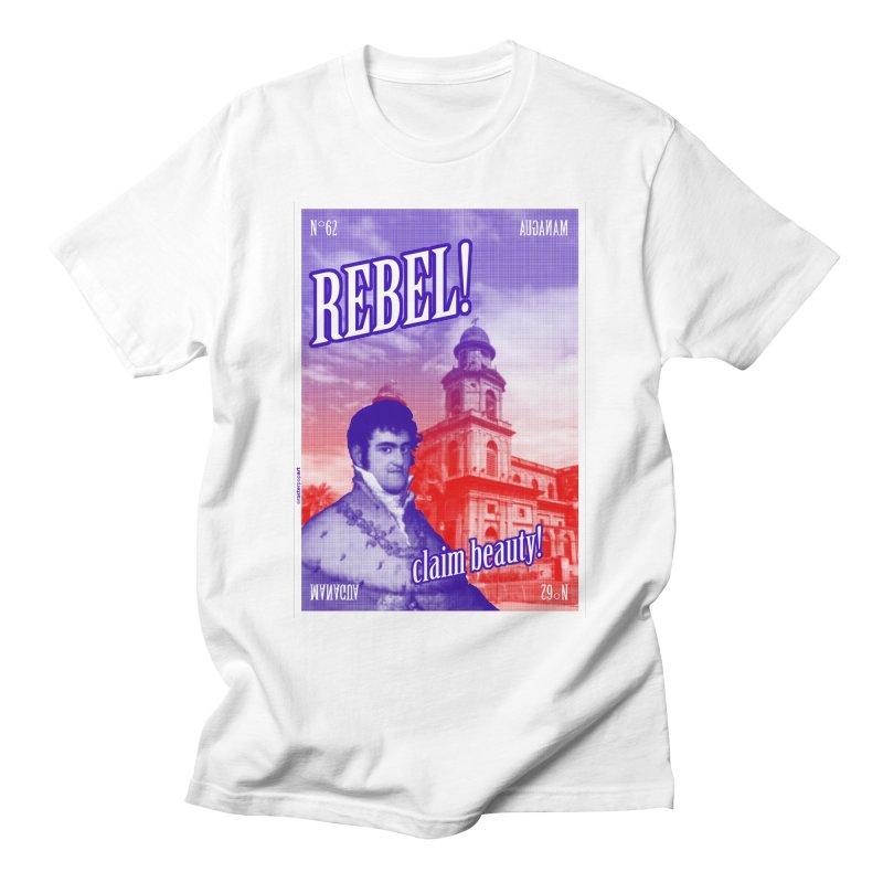 N° 62 Managua Men's T-Shirt by RasterPopArt's Artist Shop