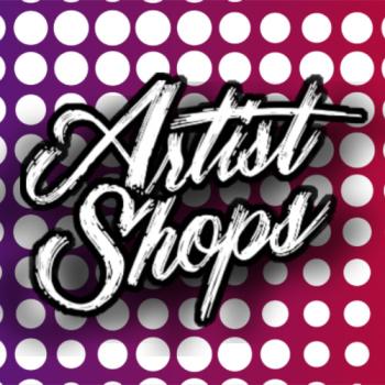 RasterPopArt's Artist Shop Logo