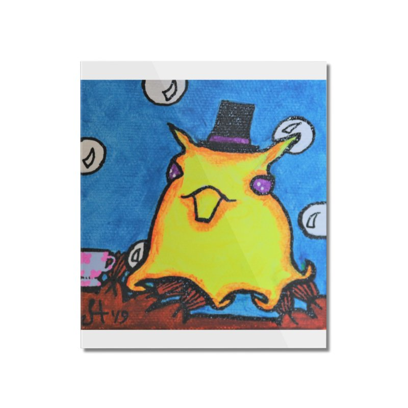 Dapper Dumbo Octopus Home Mounted Acrylic Print by Raven Mad Design's Artist Shop